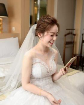 kylie bride-小恩白紗造型