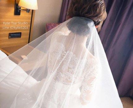 [新娘髮型]  點播率最高的白紗盤髮造型