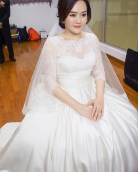 kylie bride-倩聿白紗造型
