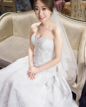 kylie bride-詩婕 白紗造型