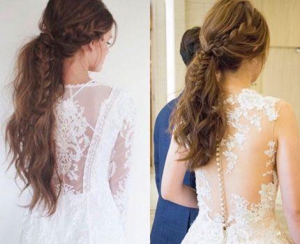 [髮型] 新娘許願款-歐美風格低馬尾/台北美福飯店