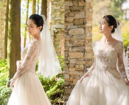 【新娘造型】迎娶白紗造型|普羅旺斯玫瑰莊園