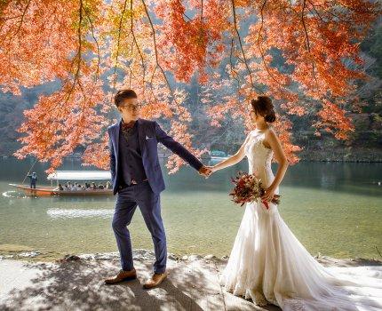 [自助婚紗] 2019日本京都婚紗|詹囍氣攝影工作室