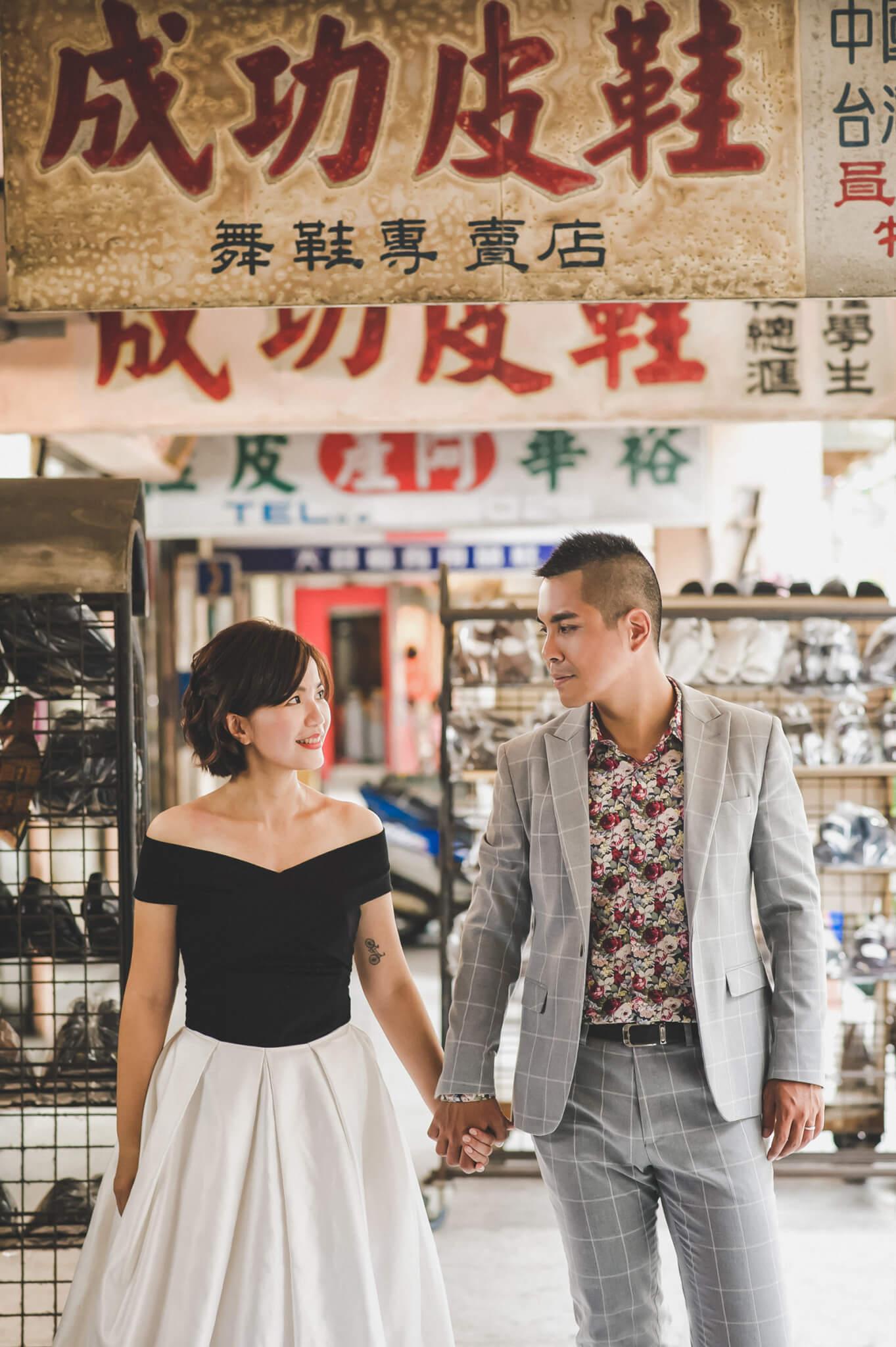 【自助婚紗】這才是我們的故事|  基隆中山橋|彩虹屋